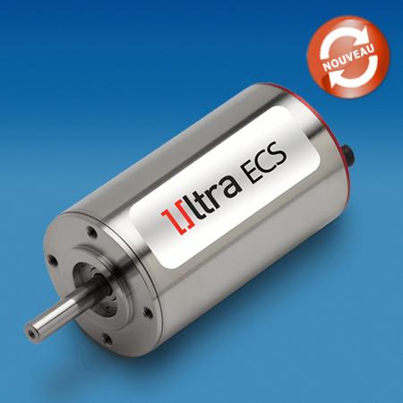 Gamme Micro-moteurs brushless Ultra EC™ 35ECS60 et 35ECS80- Portescap