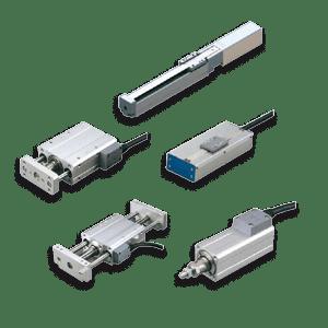 Mini vérins intégrés